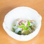 生ダコの酢の物@しんや寿司